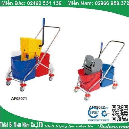 Xe dọn vệ sinh Bodoca khung inox AF08072 2