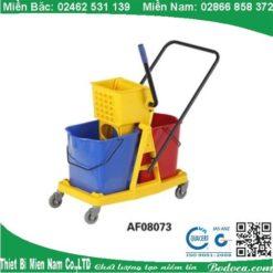 Xe lau nhà 2 xô khung nhựa AF08073 3