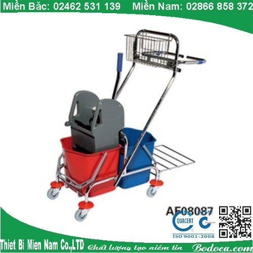 Xe làm vệ sinh có giá để đồ AF08087 7