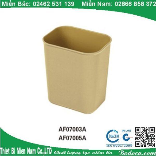 Thùng rác nhựa không nắp hình chữ nhật tại hà nội 1