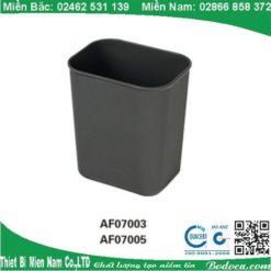 Thùng rác nhựa không nắp hình chữ nhật tại hà nội 5