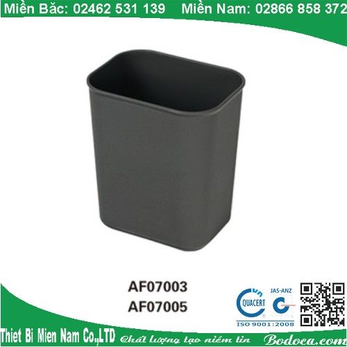 Thùng rác nhựa không nắp hình chữ nhật tại hà nội 8