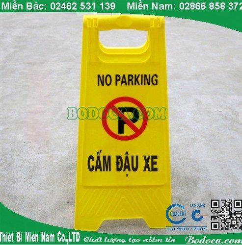 Biển cảnh báo AF03052 cấm đậu xe dùng Sân Bay 1