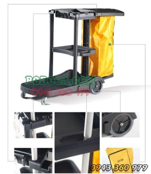 Đại lý bán xe đẩy dọn vệ sinh bằng nhựa cao cấp AF08180 2