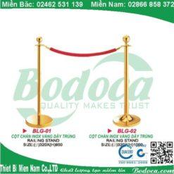 Địa chỉ bán cột chắn inox dây trùng cao cấp tại Hà Nội 3