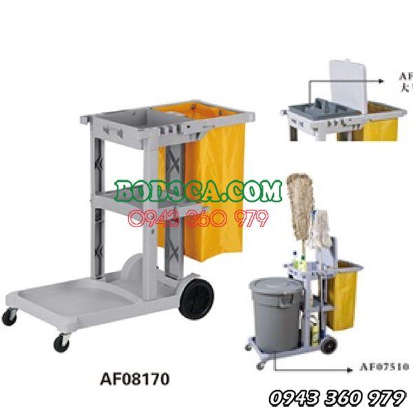 Xe chữ L làm vệ sinh công nghiệp AF08170 11