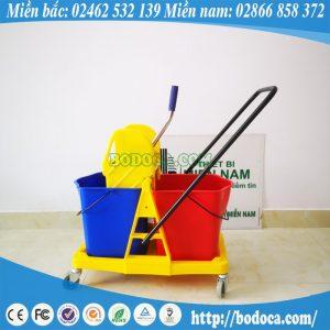 Xe đẩy lau sàn khung nhựa AF08074